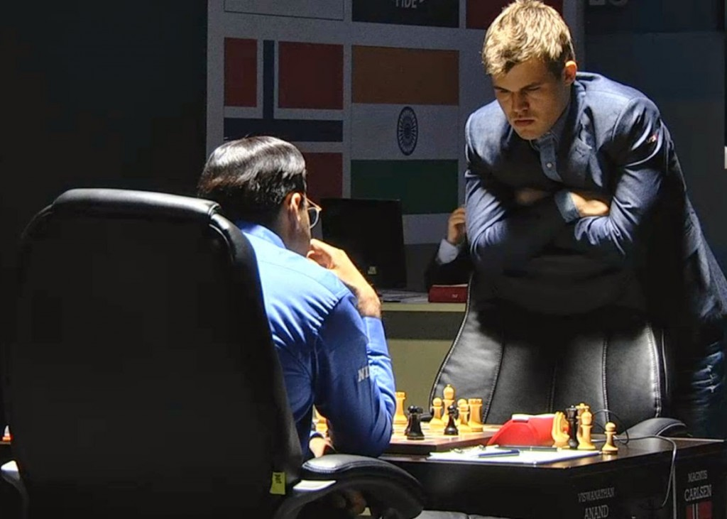 Carlsen - Anand gm 2 Sochi